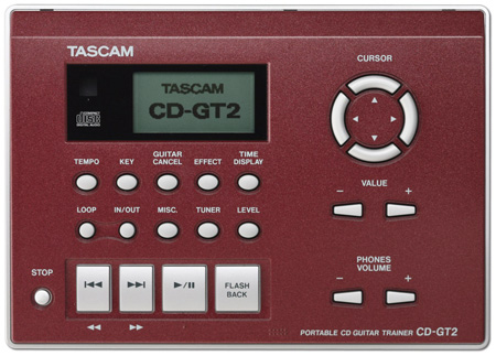 Tascam CD-GT2 CD Player/Guitar Trainer
