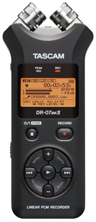 Tascam DR-07MKII Portable Stereo Recorder
