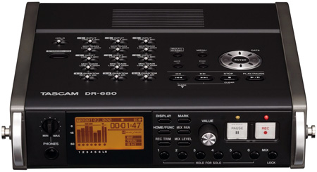 Tascam DR-680 8-Track Portable Digital Recorder
