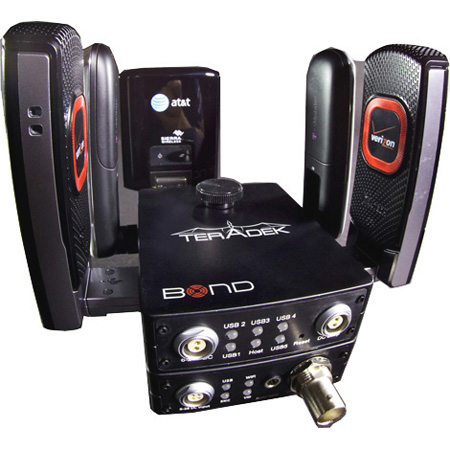 Teradek BOND Camera-Top Video Transmitter for 3G & 4G Cellular Networks