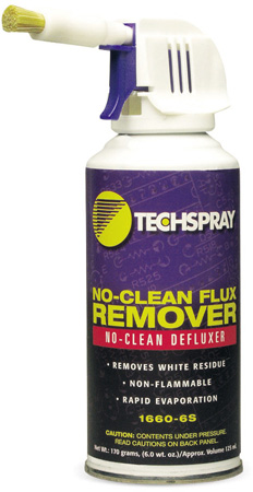 Techspray 1660-6S No Clean Flux Remover Precision AK225-Based Cleaner 6 Ounce