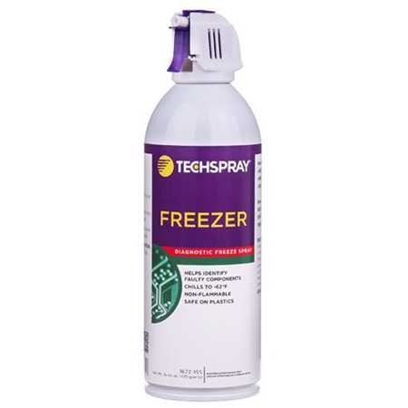 Techspray 1672-15S Freezer Diagnostic Freeze Spray 15 Ounce