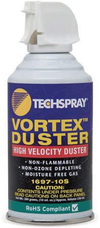 Techspray 1697-10S High Velocity Vortex Duster 10 Ounce