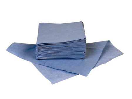 Techspray 2365-300 Economy Blue Wipe 9x9 300 Pack