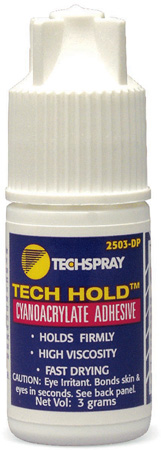 Techspray 2503-DP Tech Hold Adhesive 3 Grams