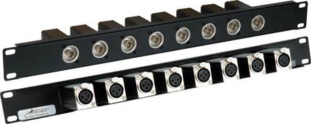 Rack Mount Patchbay 8 Port BNC-XLR F-F