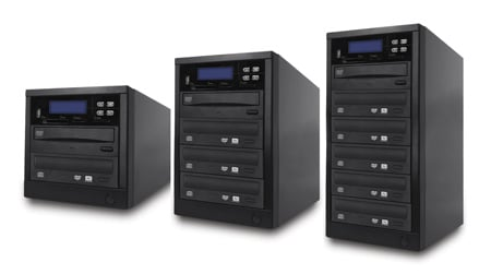 Spartan M02-SSP All-in-One Multi-media Disc Duplicator - 2 Target
