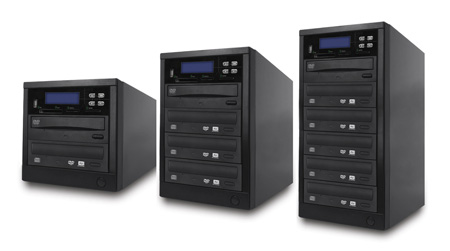 Spartan M03-SSP All-in-One Multi-media Disc Duplicator - 3 Target