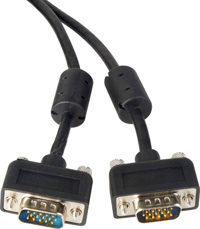 TecNec Micro S-VGA Cable  - Male to Male (10 Ft.)
