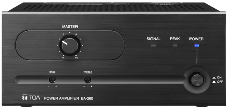 TOA BA-260 CU 60W Power Amplifier