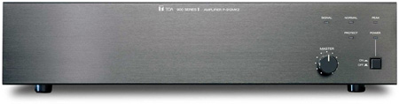 TOA P-906MK2 Power Amplifier 60W with 1 Module Port - Black (2U)