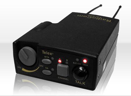Telex TR800-B4 UHF 2 Channel Wireless Transceiver