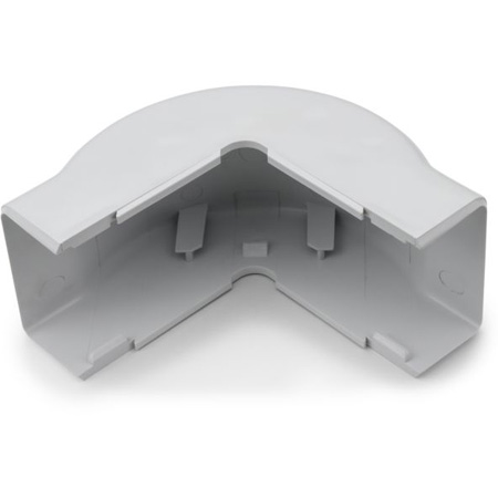 1 3/4 Inch White Cable Raceway External Corner 10-Pack for TSR3W-6A/8A