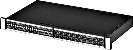Switchcraft TTEZN10SLBX 1RU Front TT EZ Norm Rear Solder Lug Patchbay