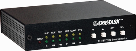TV One 1T-TBC-GL Time Base Corrector With Genlock