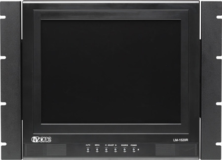 TV One LM-1520R 15inch LCD Monitor in a Rackmount Frame