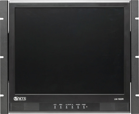 tvONE LM-1920R 19inch LCD Monitor in a Rackmount Frame