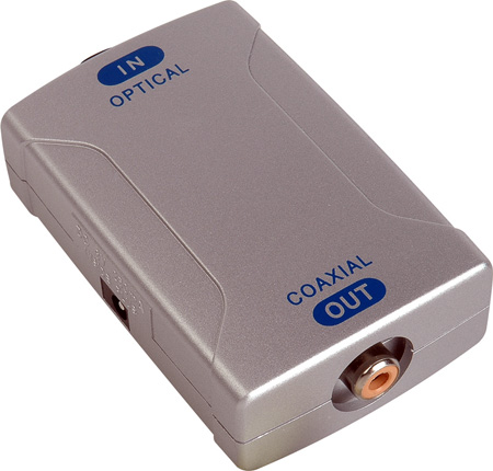AV Toolbox POF-830 Optical to Coaxial Converter
