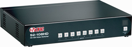 TV One S2-108HD Reclocking SD/HD-SDI Routing Switcher