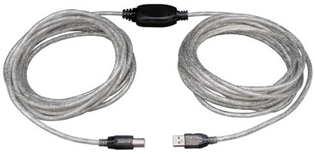 Tripp Lite U042-036 36-ft. High-Speed USB2.0 A/B Active Device Cable (A Male to B Male)