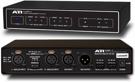 ATI UADC-1 Analog to Digital Audio Converter / Switch