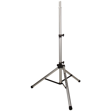 3 Ft 6 In. 6 Ft 7 In. Silver Speaker Stand TS-80S w/BAG90 Black Bag