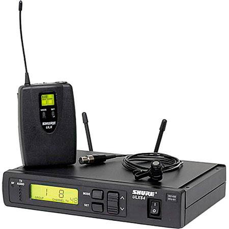 Lavalier Wireless Microphone System WL184 System - G3 470-505 MHz