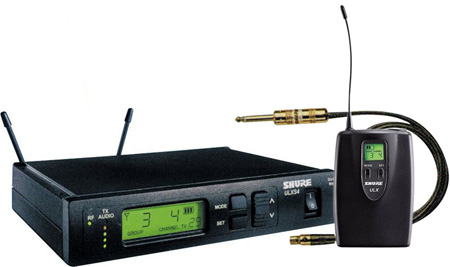 Shure ULXS14 Instrument Wireless System - Freq M1- (36 MHz) 662-698