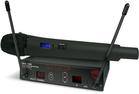 Nady UWS-100 HT 100-Channel Select UHF Wireless System (Handheld)