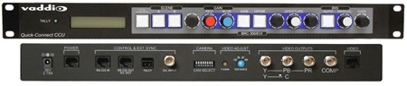 Vaddio 998-6307-000 Quick-Connect CCU for EVI-HD1 Camera Control Unit