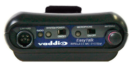 Vaddio 998-8551-000 Replacement - EasyTalk Wireless Belt Pack