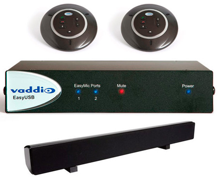 Vaddio 999-8630-000 EasyTalk USB Audio Bundles System B