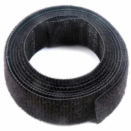 VELCRO® Brand ONE-WRAP® 3/4-Inch x 4 Foot Roll - Black
