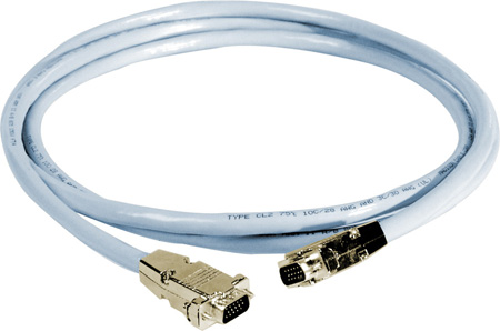 15 Foot DDC SVGA HD15 Pin Male to Male Cable