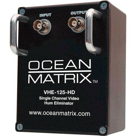 Ocean Matrix HD-SDI & SDI 1-Channel Video Hum Eliminator w/Handles