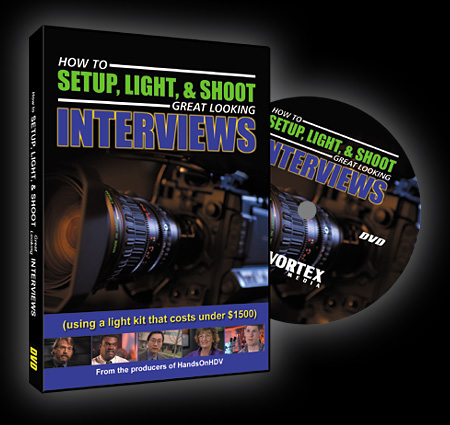 How To Set-Up  Light And Shoot Great Looking Videos DVD