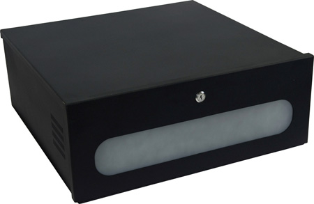 VMP DVR-LB2 DVR Lockbox With Fan and IR Window