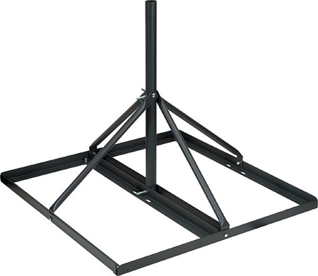 Video Mount Products FRM-125 Non-Penetrating Roof Mount 60 Inch 1.25 O.D.