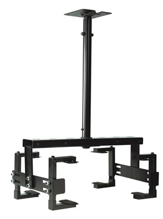 Universal LCD Projector Mount Opens From 10-24 Inch Wide