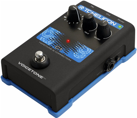 TC-Helicon VoiceTone C1 Hardtune & Correction Pedal