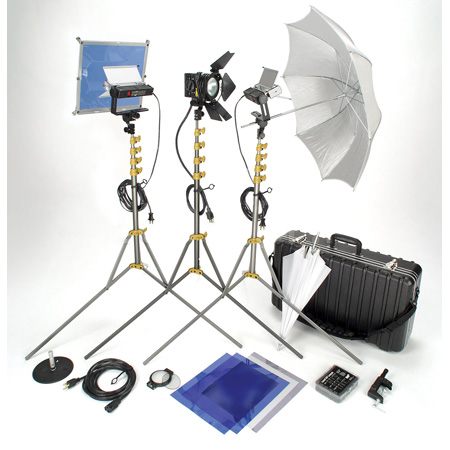 Lowel VP-97ULBZ Go Jet Set 3 Light Kit with LB-30 Soft Case
