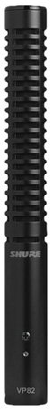 Shure VP82 Short Integrated Shotgun Mic w/Pouch & Foam Windscreen