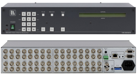 Kramer VS-3232V 300MHz 32x32 Composite Video Matrix Switcher