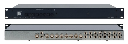 Kramer VS-81AV 8x1 Composite Video & Audio Switcher