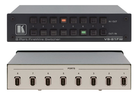 Kramer 8-Port Firewire Switcher