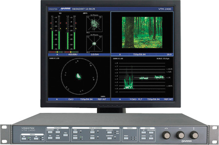 Imagine VTM-2400 HD Multi-Format On-Screen Monitor