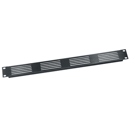 Middle Atlantic 1RU Slotted Vent Panel Black