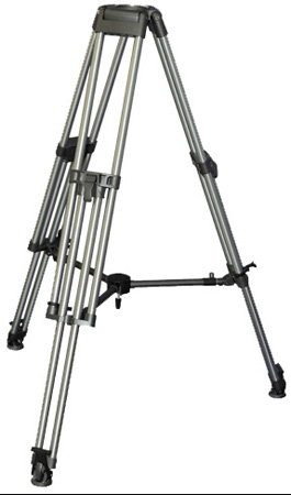 Varizoom VZ-TC100A Heavy Duty Aluminum Video/ Tripod w/ 100 mm Bowl and Case