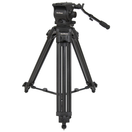 VariZoom VZ-TK100AM 100mm Tripod/Head Combo w/ VZ-FH100 Head & VZ-T100AM Tripod