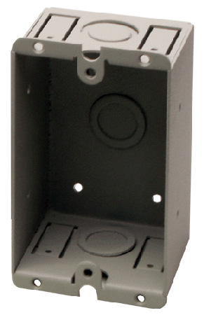 RDL WB-1U 1 Gang Universal Wall Box